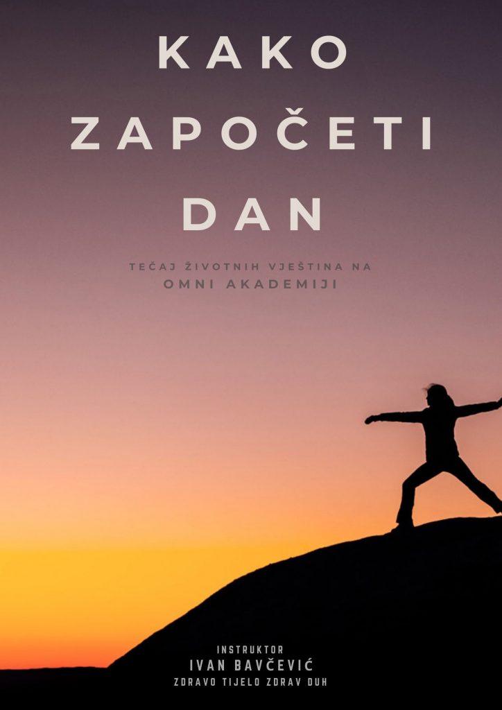 Serija jednostavnih fizičkih vježbi za rastezanje tijela, aktivaciju uma i afirmaciju istine o sebi na početku dana.
